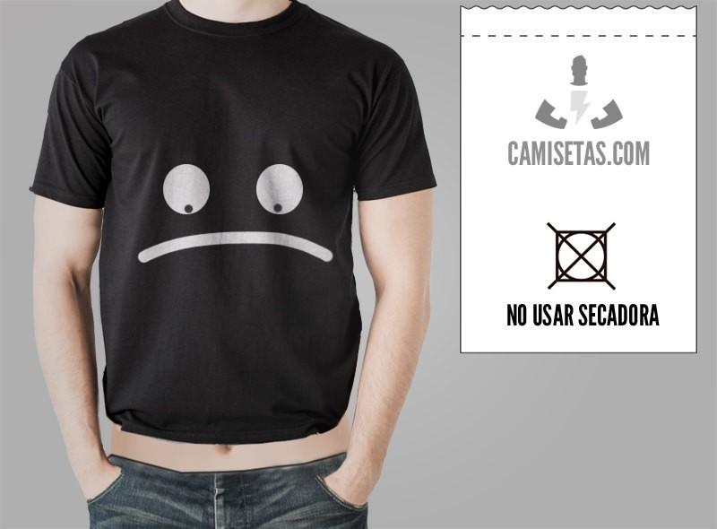 Camisetas personalizadas lavado