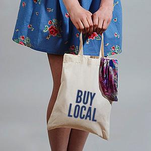 Estampar bolsas para tiendas