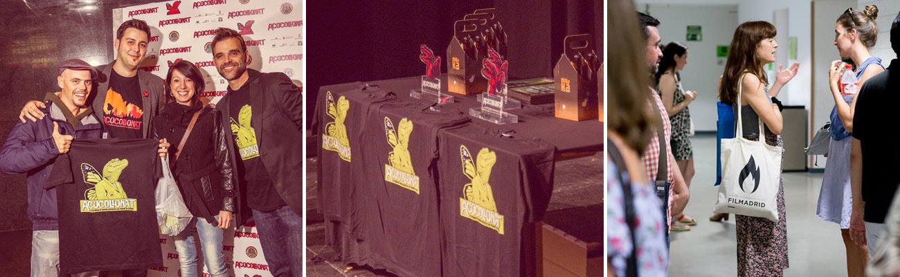 camisetas personalizadas para festivales