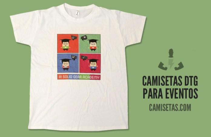 camisetas dtg para eventos