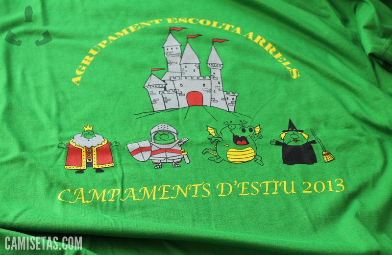 Camisetas para campamentos