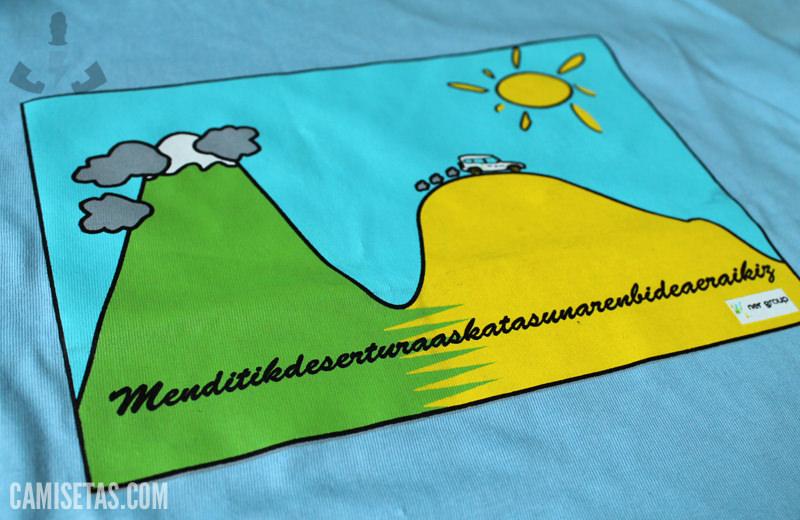 camisetas infantiles para campamentos