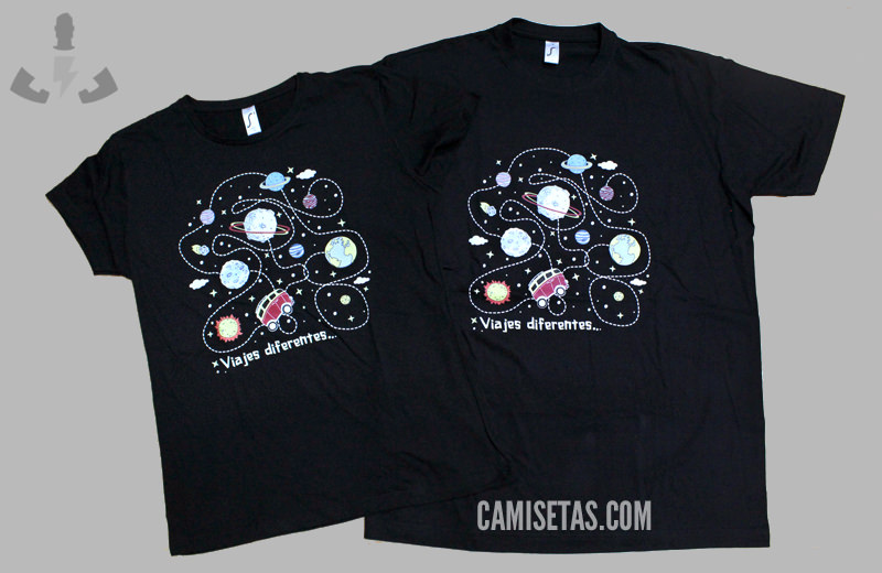 Ejemplo de camisetas para colonias