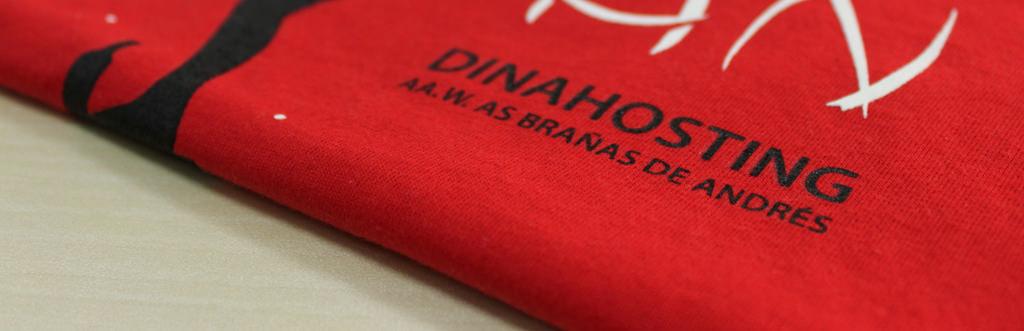 camisetas corporativas personalizadas