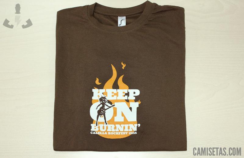 camisetas personalizadas festivales