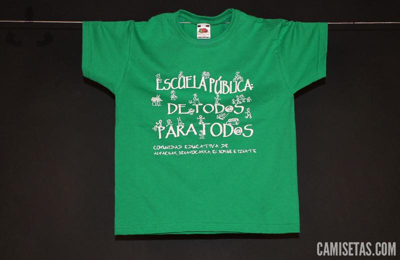 camisetas serigrafia eventos