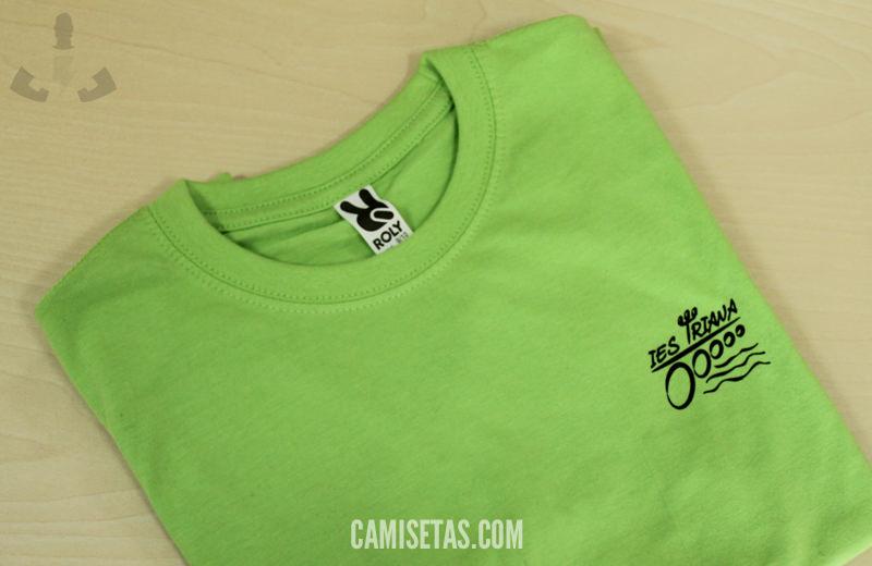 camisetas baratas colegios