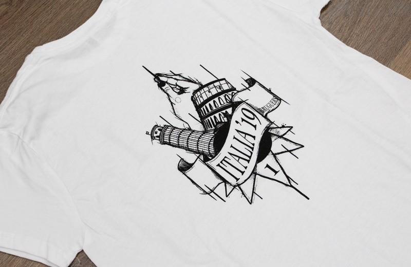 camisetas viaje final estudios