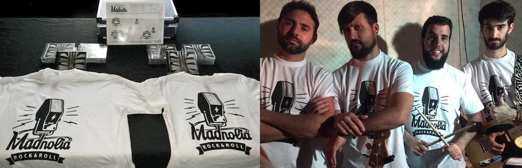 camisetas grupos musica