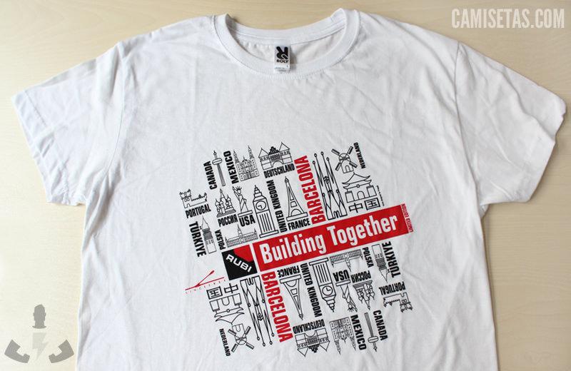 Camisetas publicitarias