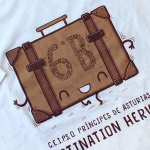 Camisetas viajes de fin de curso