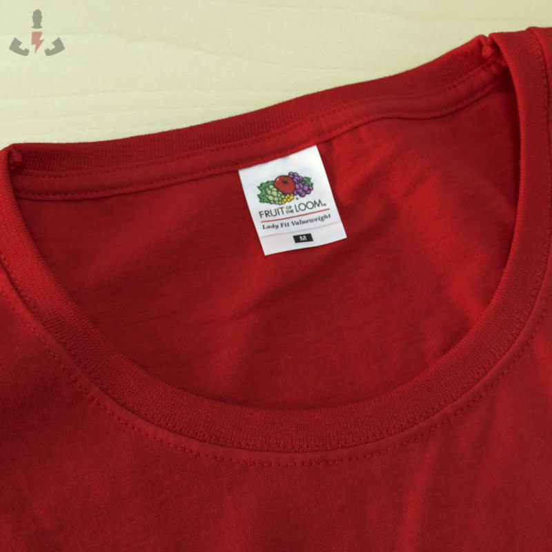 Fotos de Camisetas Fruit-of-the-Loom Value lady