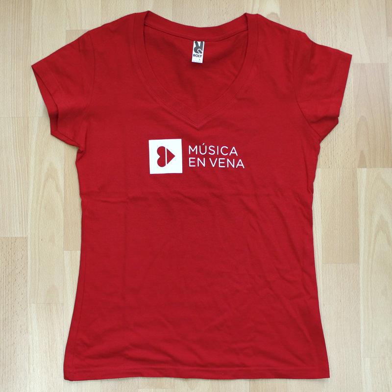 Fotos de Camisetas Roly Victoria Cuello V