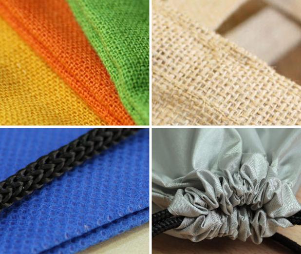 Materiales bolsas personalizadas