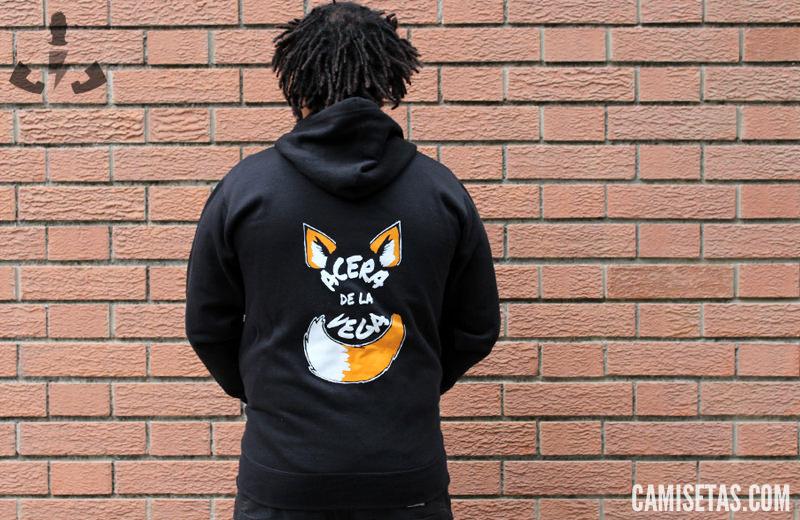 Estampacion espalda de hoodies