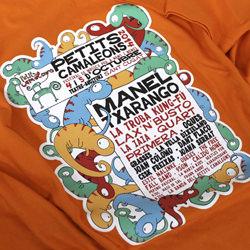 Detalle del diseño de la camiseta del Petits Camaleons 2014