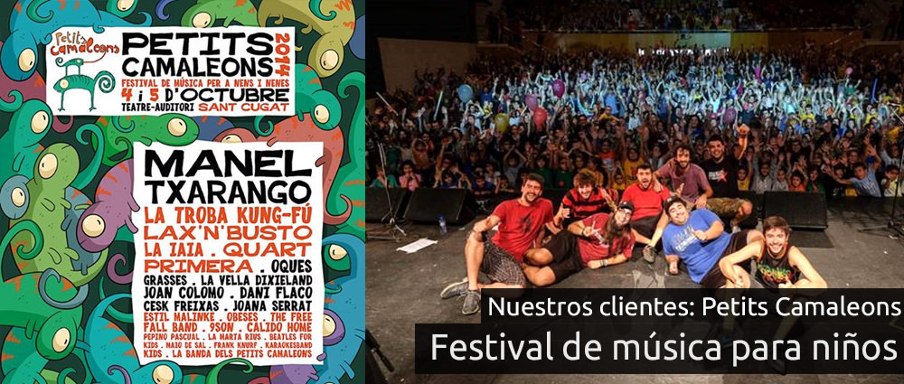 Festival Petits Camaleons en el teatre-auditori de Sant Cugat del Vallès