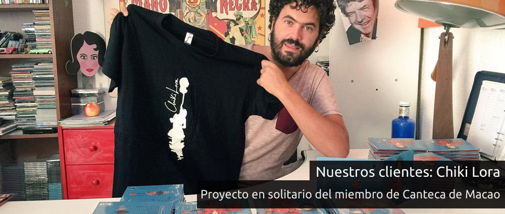 Camisetas personalizadas para cantantes