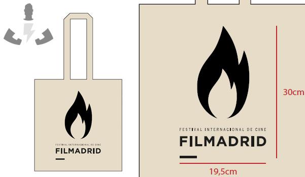 Bolsas personalizadas para Filmadrid