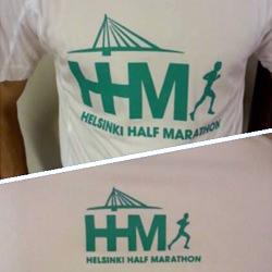 Camiseta de la Helsinki Half Marathon