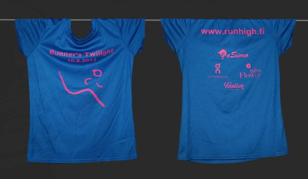 Camiseta personalizada para los finlandeses Runner's High