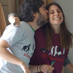 Estudiantes con su camiseta de Medical Revolution