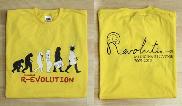Dorso de la camiseta de Medical Revolution