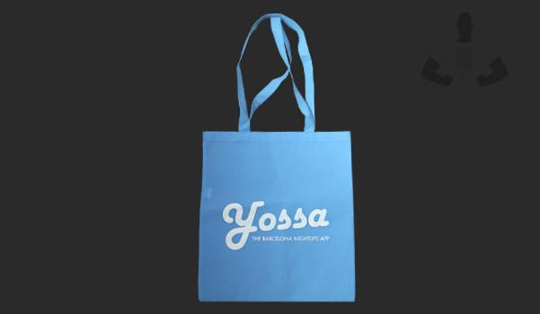 Bolsa personalizada para Yossa
