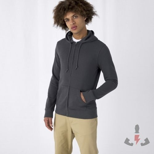 BC Organic Zipped Hood 280