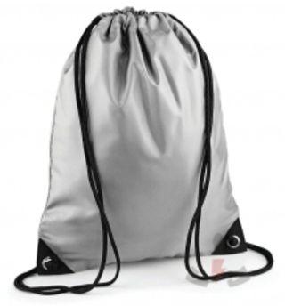 Bag Base Gymsac Nylon Silver 100