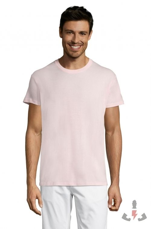 Camisetas Regent 150  Color Rosa medio 137