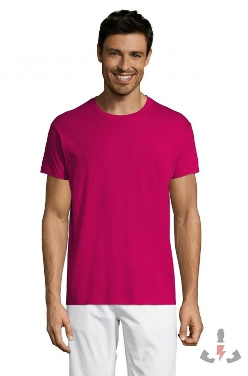Camisetas Regent 150  Color Fucsia 140