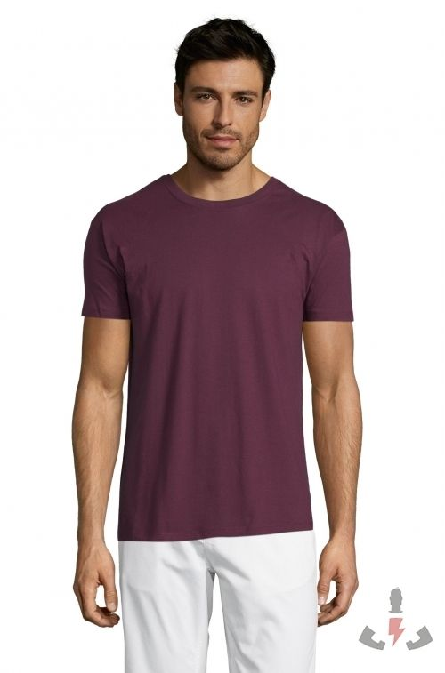 Camisetas Regent 150  Color Burdeos 146