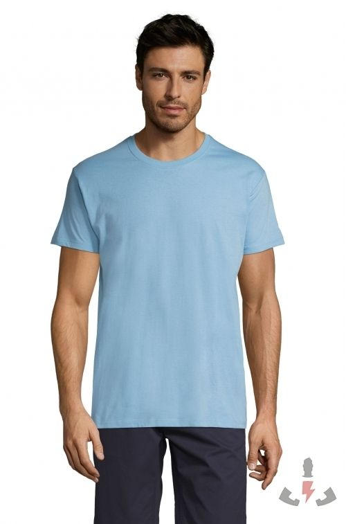 Camisetas Regent 150  Color Azul cielo 220