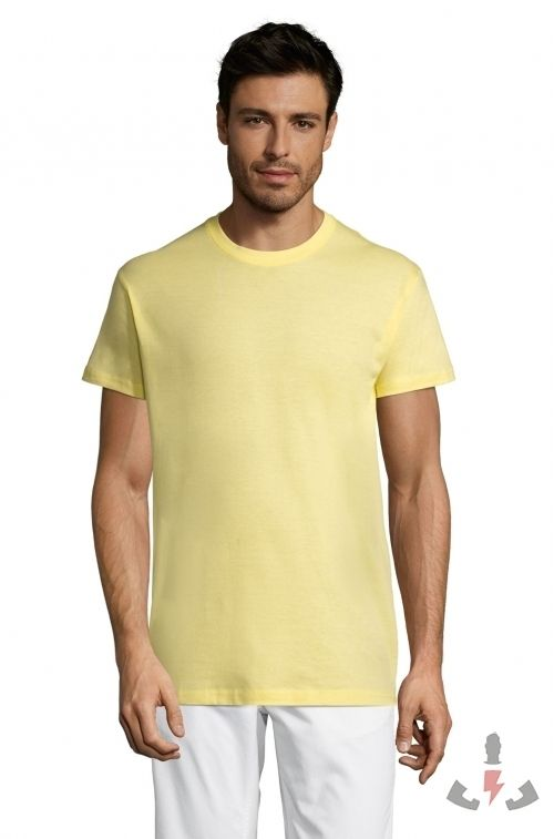 Camisetas Regent 150  Color Amarillo palo 261