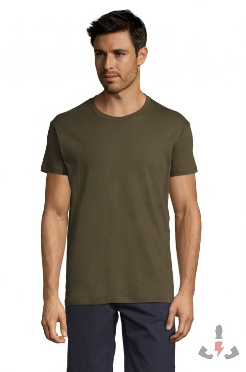 Camisetas Regent 150  Color Army 269