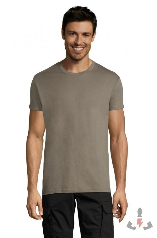 Camisetas Regent 150  Color Zinc 330