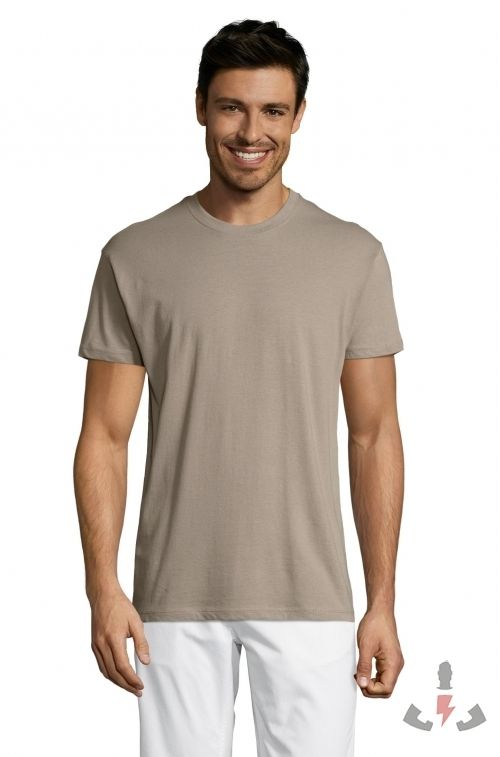 Camisetas Regent 150  Color Gris claro 380