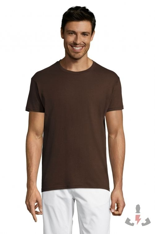 Camisetas Regent 150  Color Chocolate 398