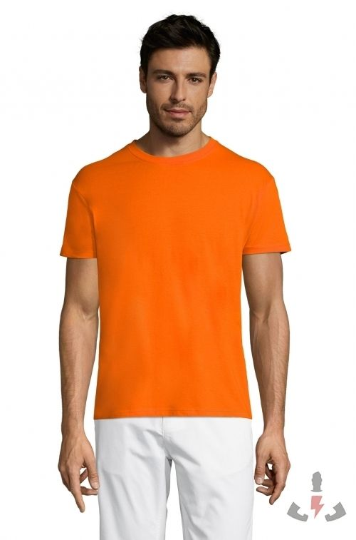 Camisetas Regent 150  Color Naranja 400
