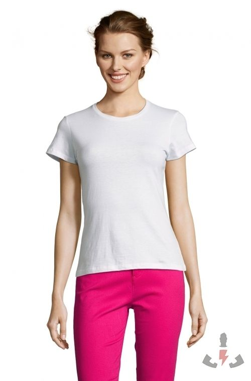 Camisetas Miss Color Blanco 102