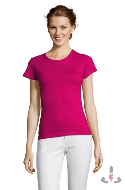 Camisetas Miss Color Fucsia 140