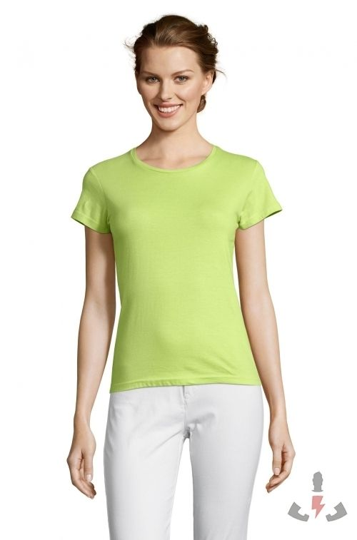 Camisetas Miss Color Verde manzana 280