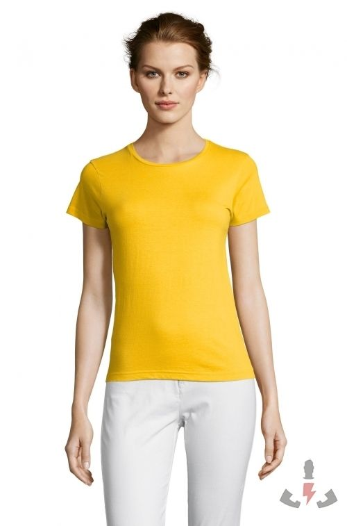 Camisetas Miss Color Gold 301