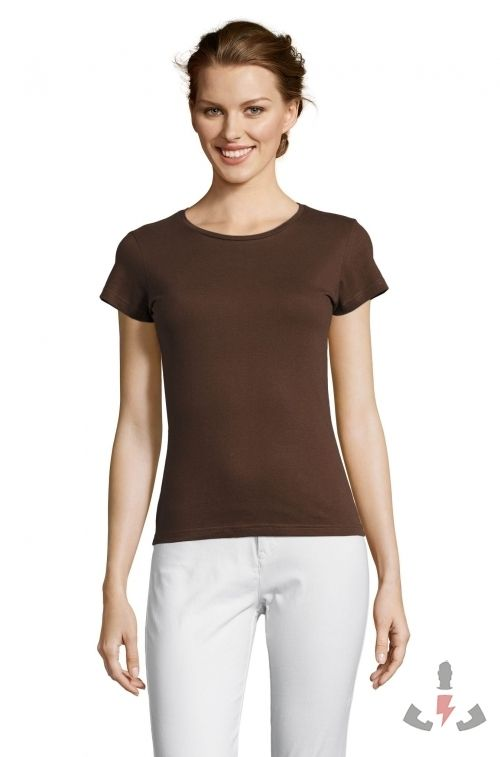 Camisetas Miss Color Chocolate 398