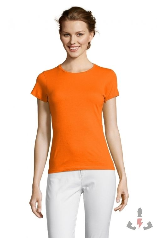 Camisetas Miss Color Naranja 400