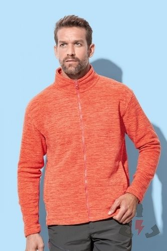 Stedman Active Melange Fleece Jacket 310