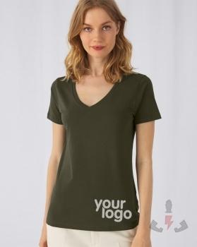 Camisetas BC Inspire Cuello V Orgánica W TW045