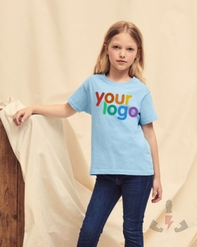 Camisetas Fruit-of-the-Loom Original T Kids 61-019-0