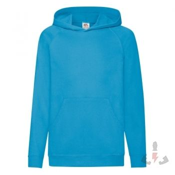 Sudaderas Fruit-of-the-Loom Ligera Capucha Kids 62-009-0